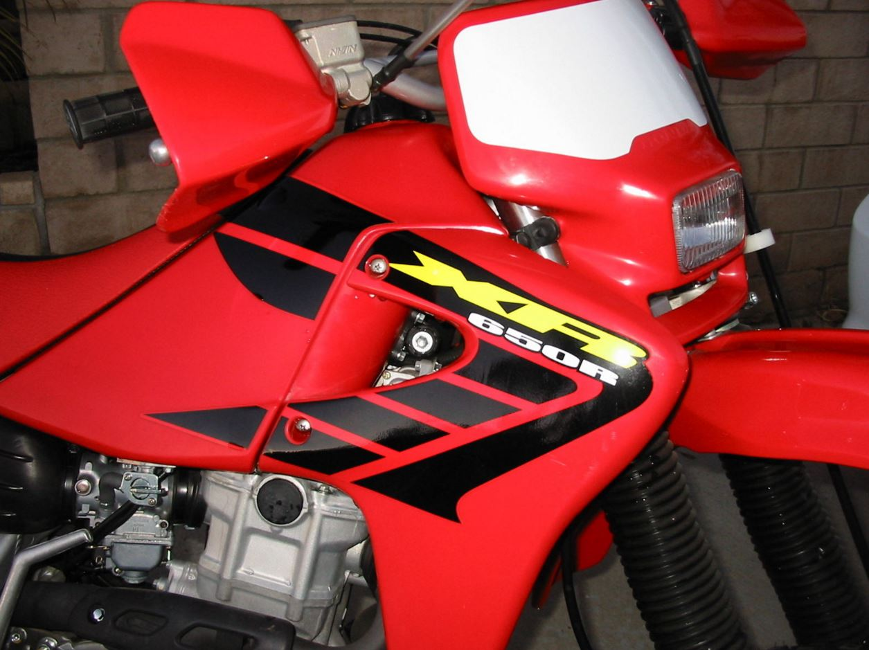 Never Ridden – 2002 Honda XR650R   Bike-urious