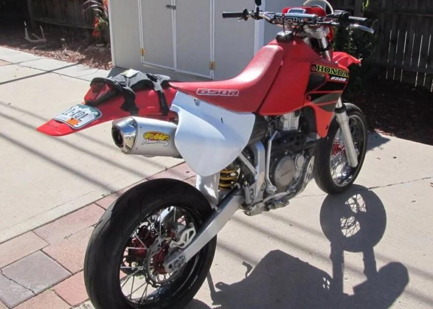 2001 Honda XR650R Supermoto – Bike-urious