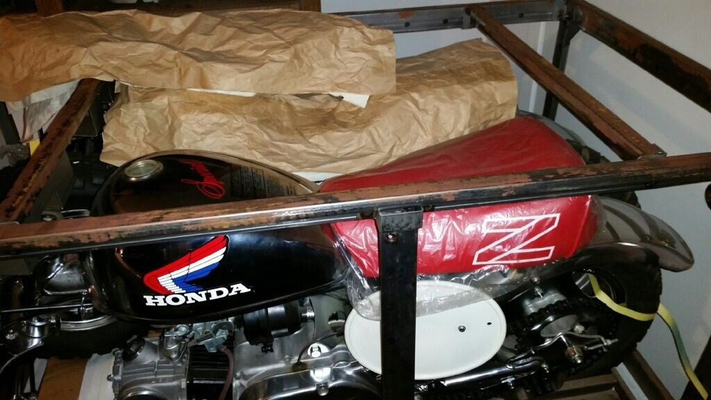 New in Crate - 2 1986 Honda Z50 Christmas Specials