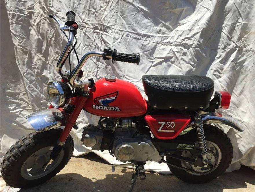 1976 Honda Z50 Mini Trail – Bike-urious