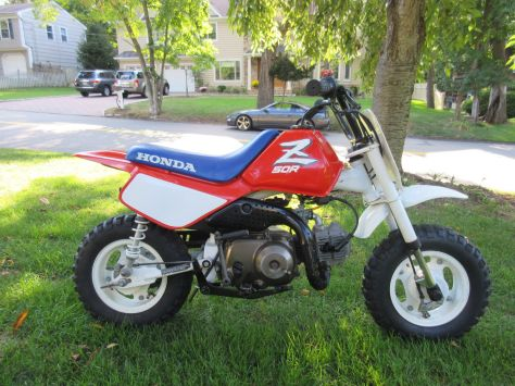 Honda Z50R - Right Side