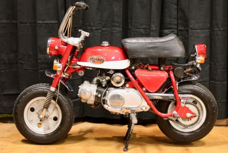 JDM Monkey – 1972 Honda Z50Z K1