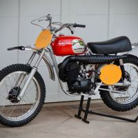Restored - 1970 Husqvarna 360 Cross