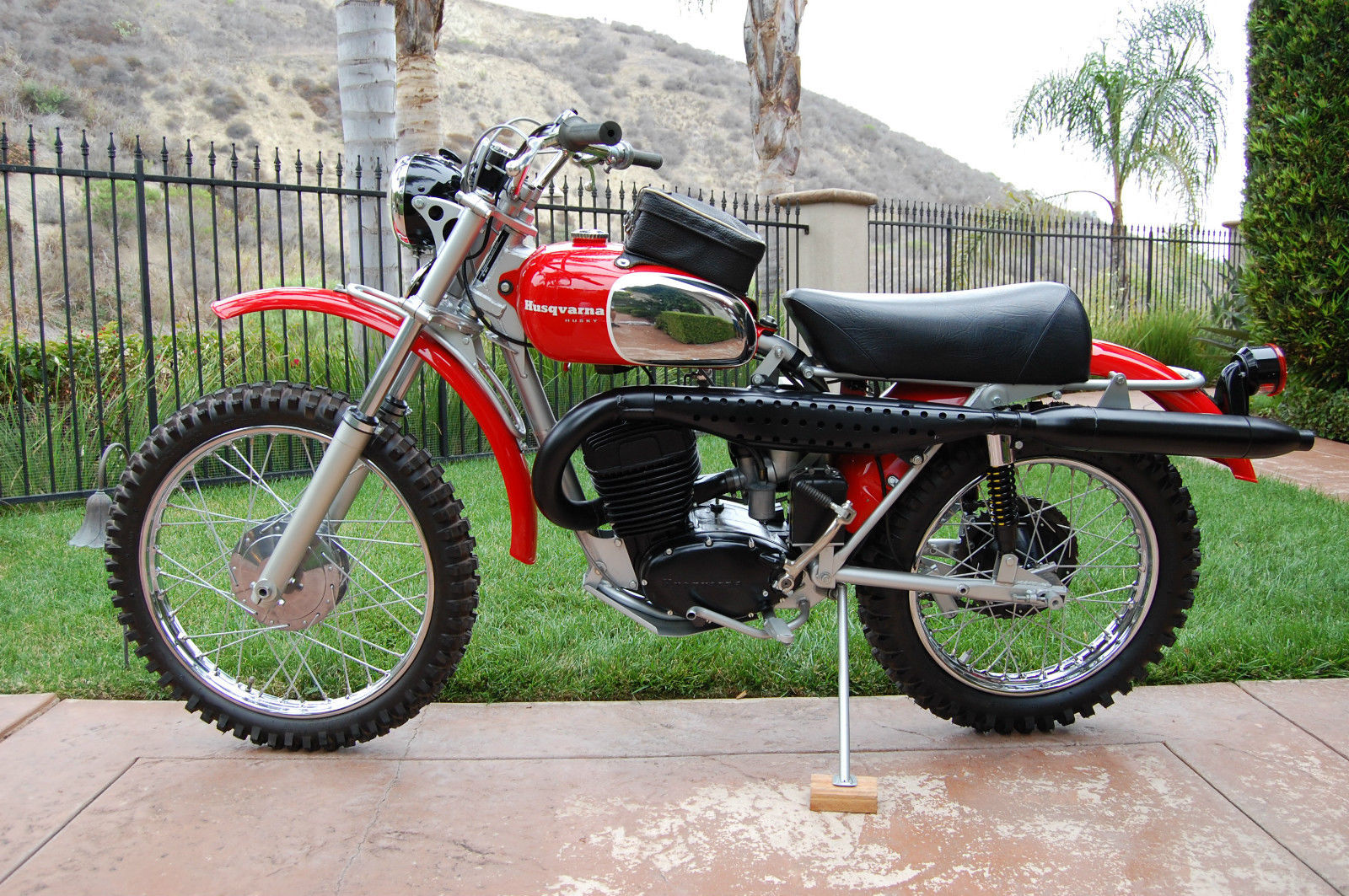 1970 husqvarna 360c sportsman bike urious. Black Bedroom Furniture Sets. Home Design Ideas