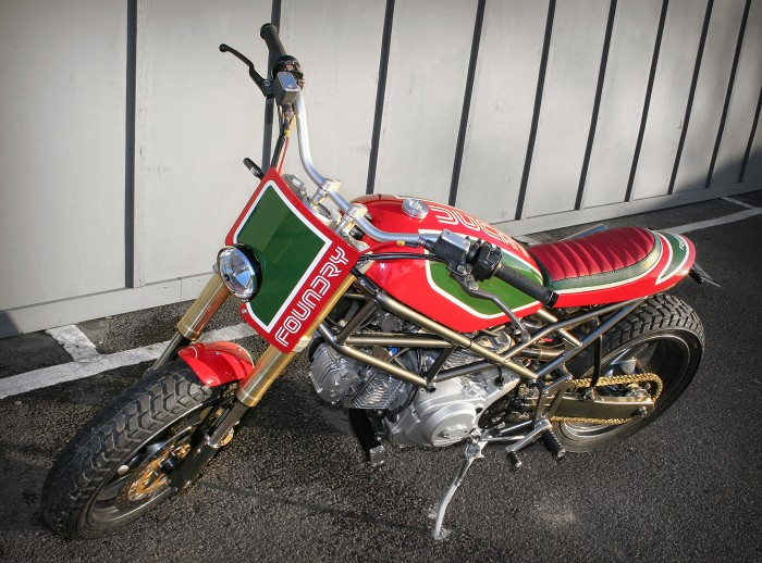 Il Castrolo - Ducati Monster M750 Custom - Front Left