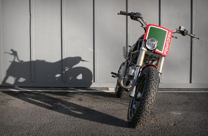 Il Castrolo - Ducati Monster M750 Custom - Front