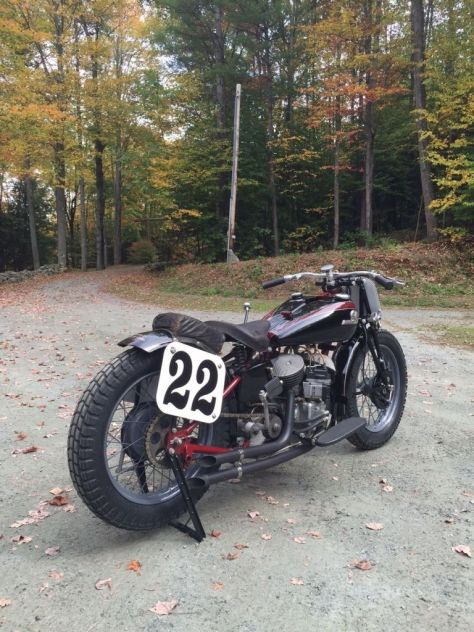 Indian 648 Big Base Racer - Right Rear