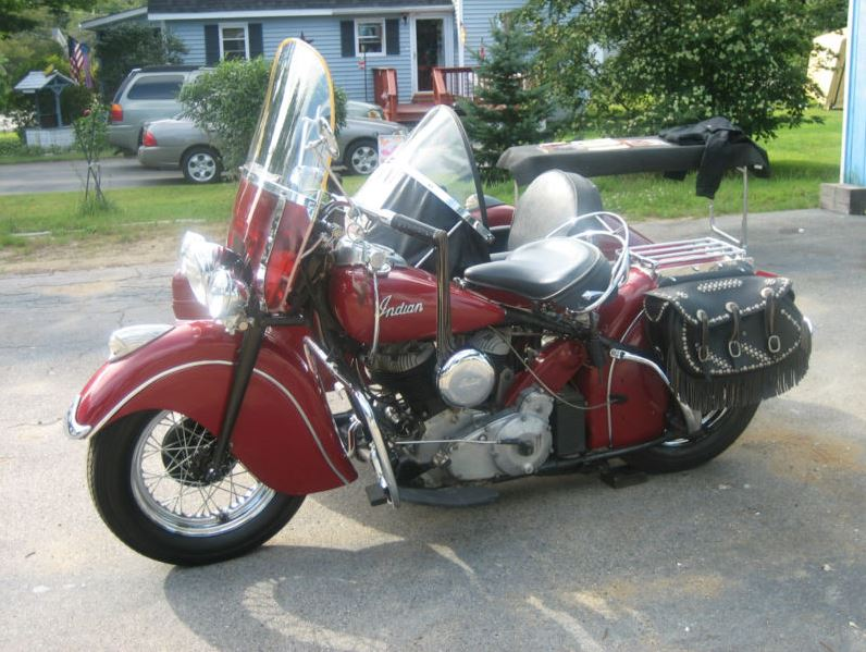 Indian Chief Sidecar - Left Side