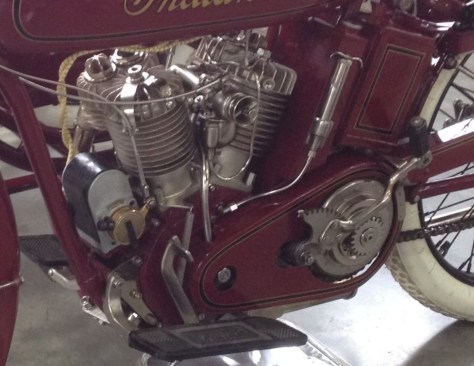 Indian Power Plus Sidecar - Engine