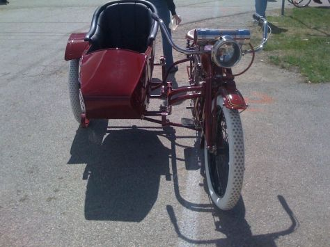 Indian Power Plus Sidecar - Front