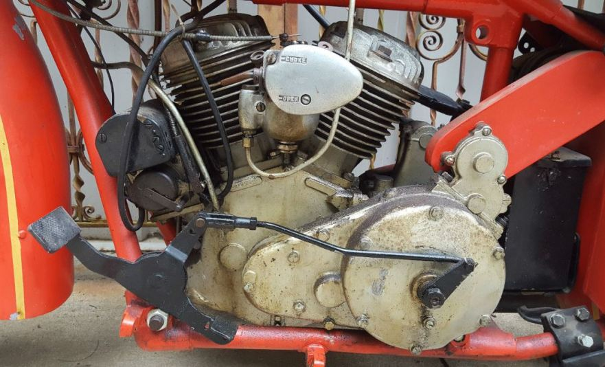 Indian Scout 101 - Engine