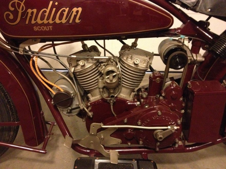 Indian Scout - Engine