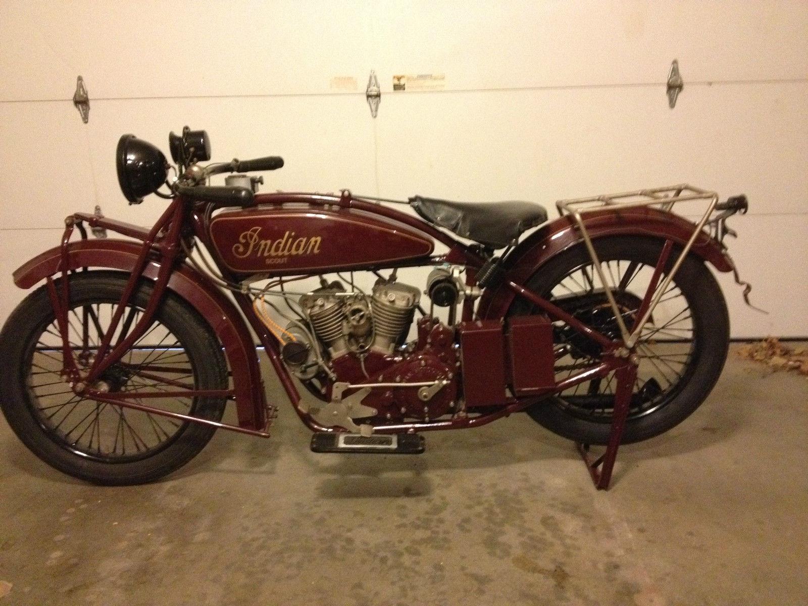 1925 Indian Scout Bike Urious