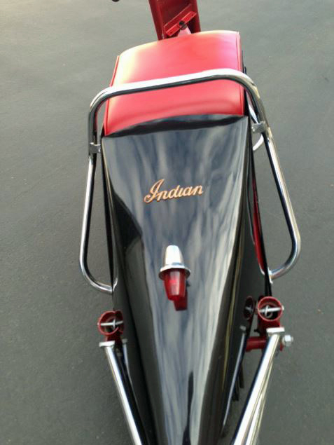 Indian Stylemaster - Rear