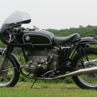 """Isabella the Cafe Dancer"" - 1972 BMW R75/5"