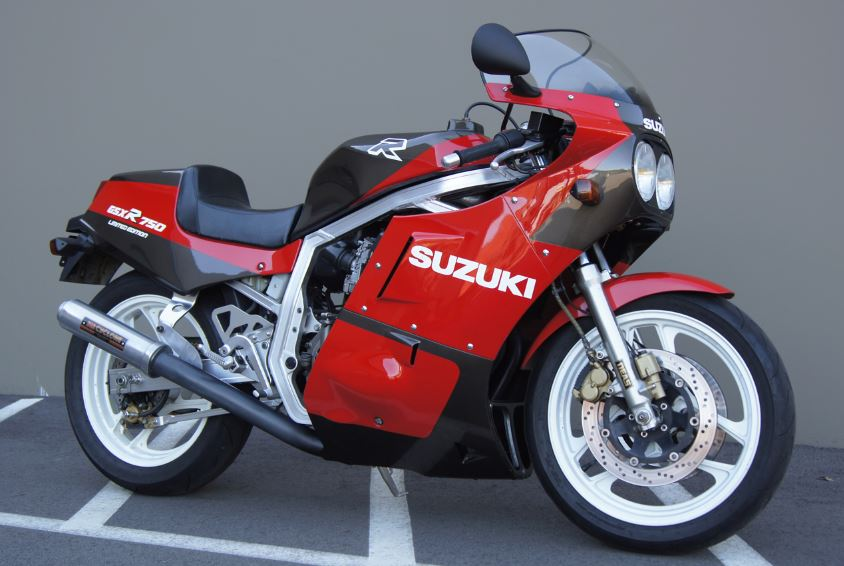JDM Spec – 1986 Suzuki GSX-R 750 Limited Edition – Bike-urious