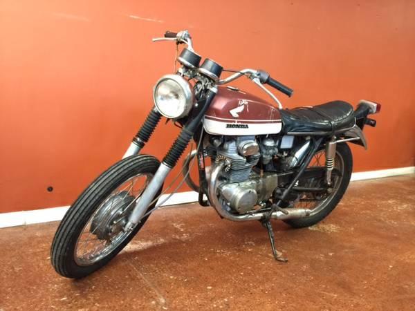 Joe Dirt Bikes - Honda CB350 K2 - Front Left
