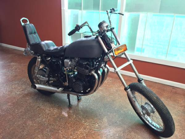 Joe Dirt Bikes - Honda CB750 K4 - Right Side