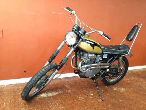 Joe Dirt Bikes - Honda CL350 K1 - Front Left