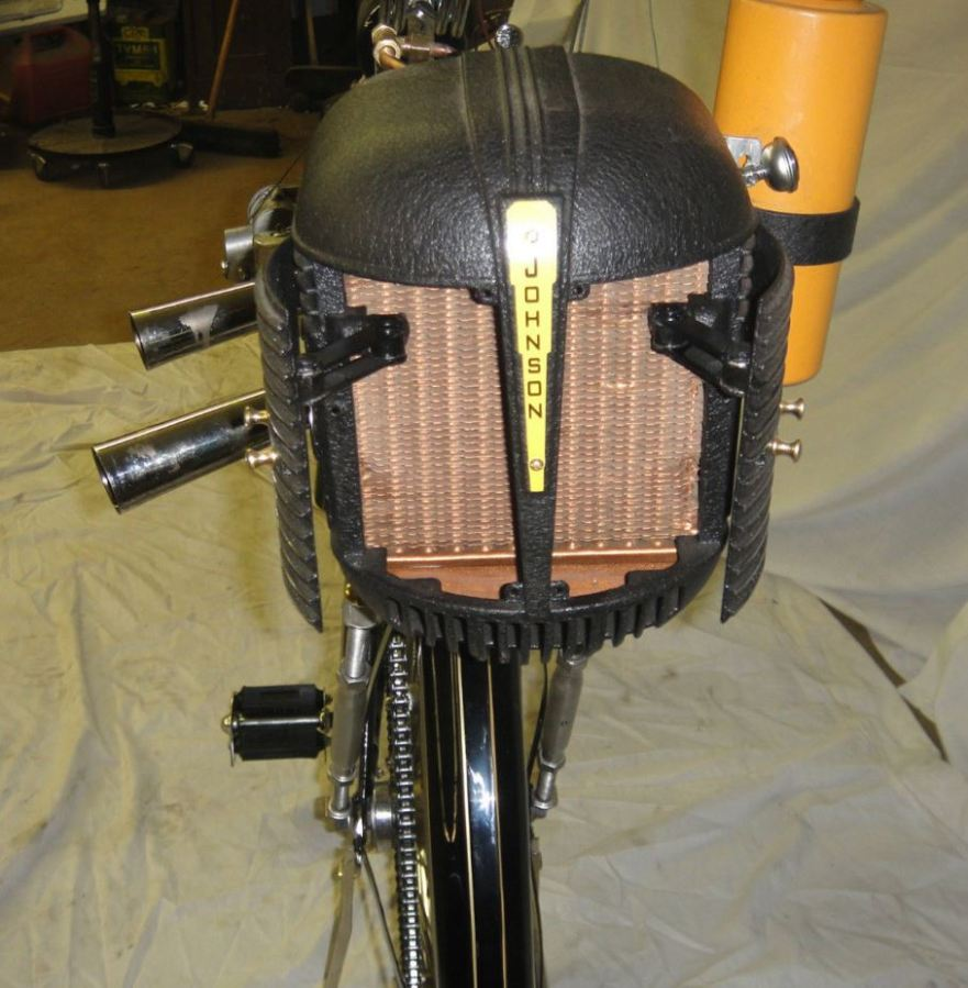 Johnson Motor Wheel - Cooling