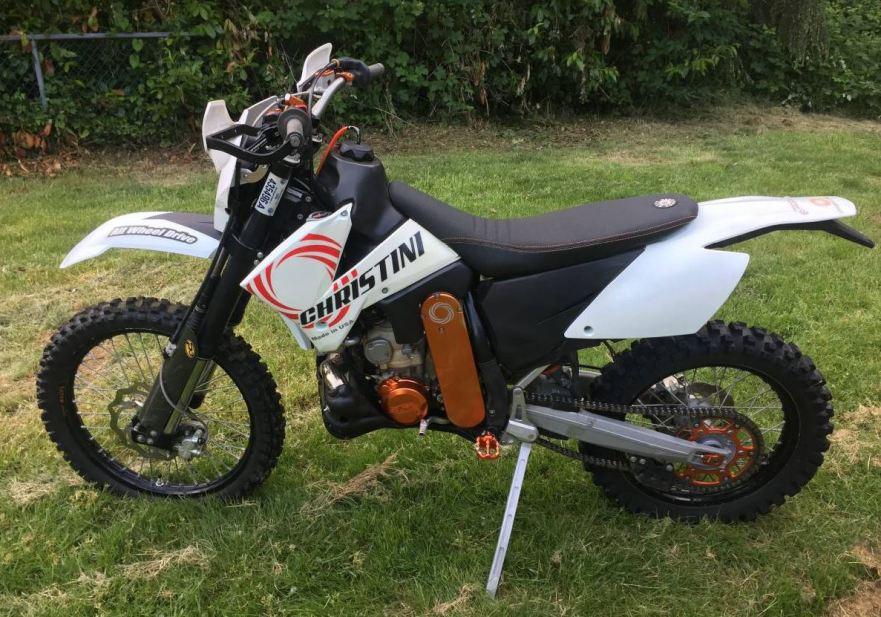 christini 2wd – 2007 ktm 300 xcw | bike-urious