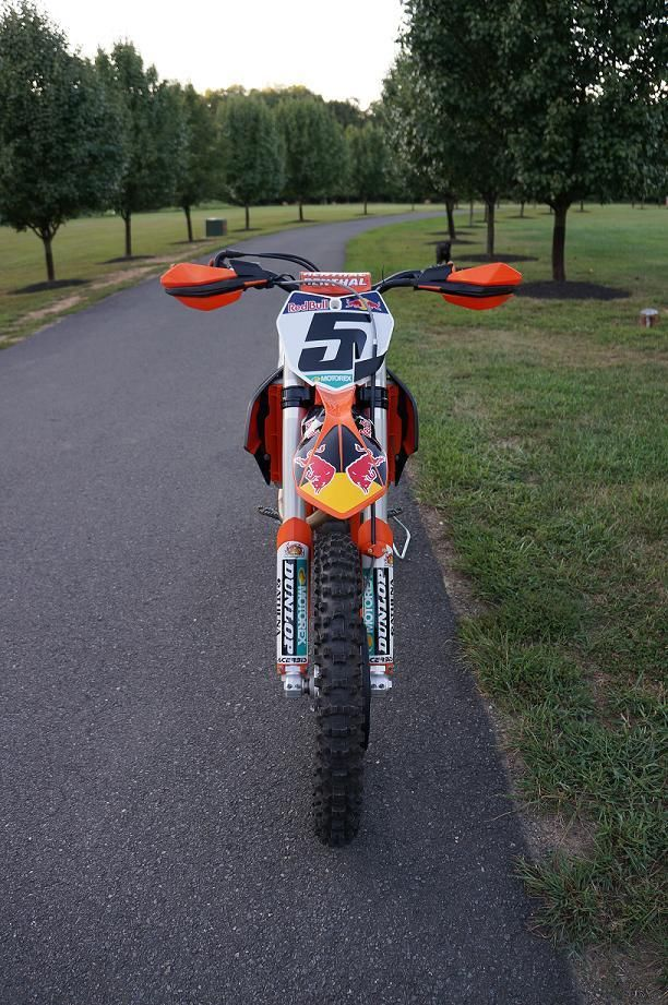 KTM 450 SX-F Factory Edition - Front