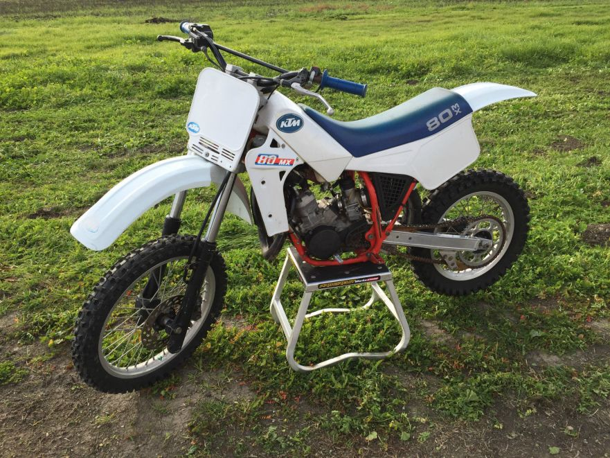 ending soon – 1986 ktm 80mx | bike-urious