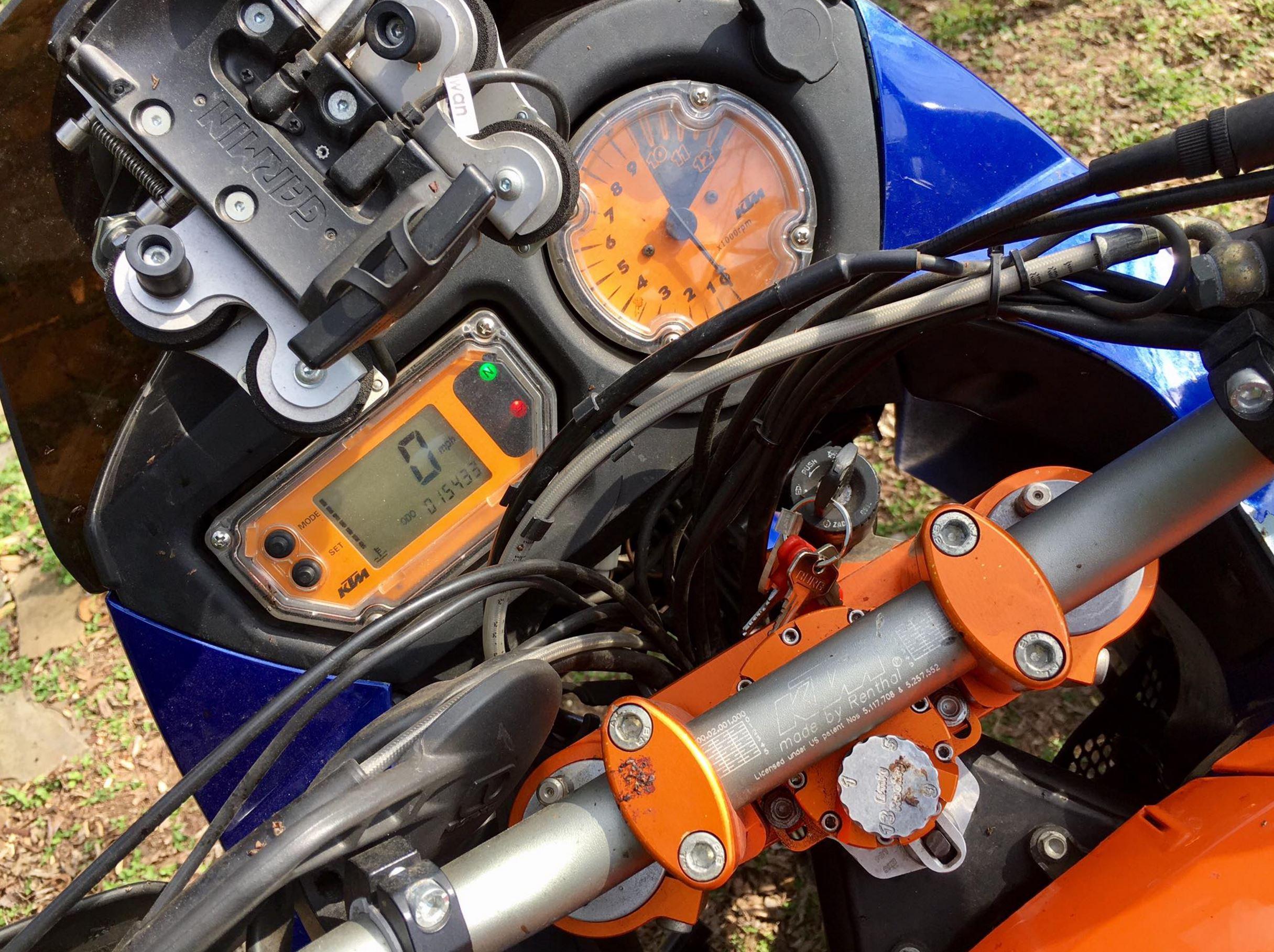 well-modified – 2004 ktm 950 adventure s   bike-urious