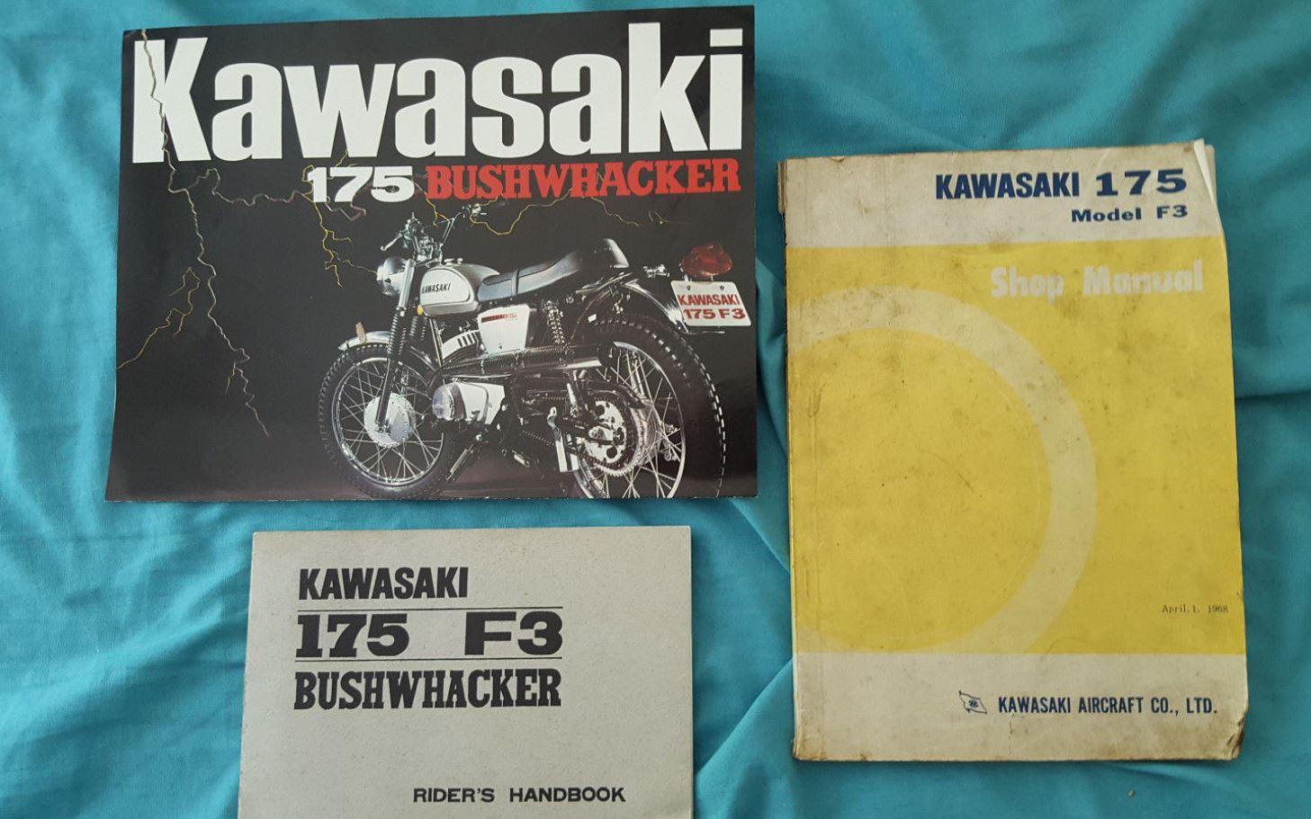 1968 Kawasaki Bushwacker F3 175 – Bike-urious