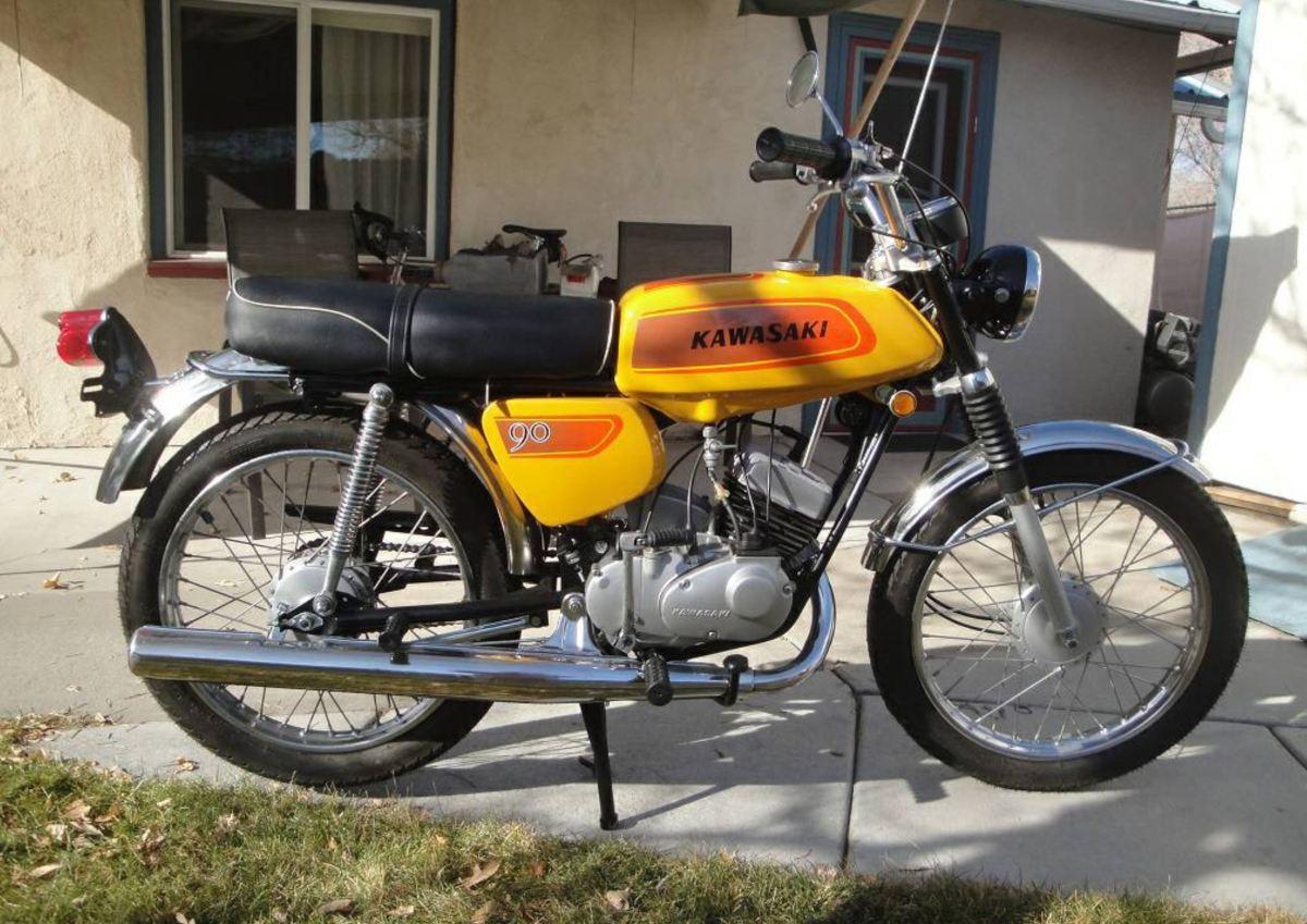 Restored - 1971 Kawasaki G3SS