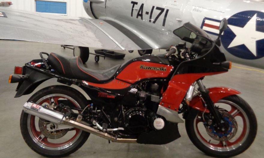 180 Claimed HP – 1984 Kawasaki GPz750 Turbo – Bike-urious
