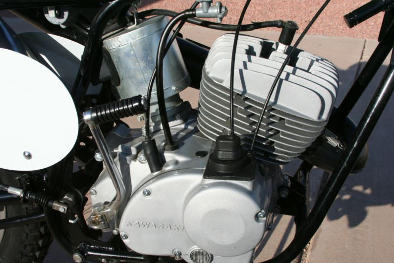 Kawasaki Green Streak F21M - Engine