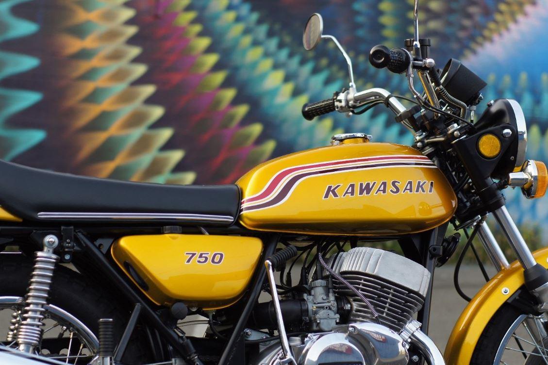 Restored – 1972 Kawasaki H2 Mach IV – Bike-urious