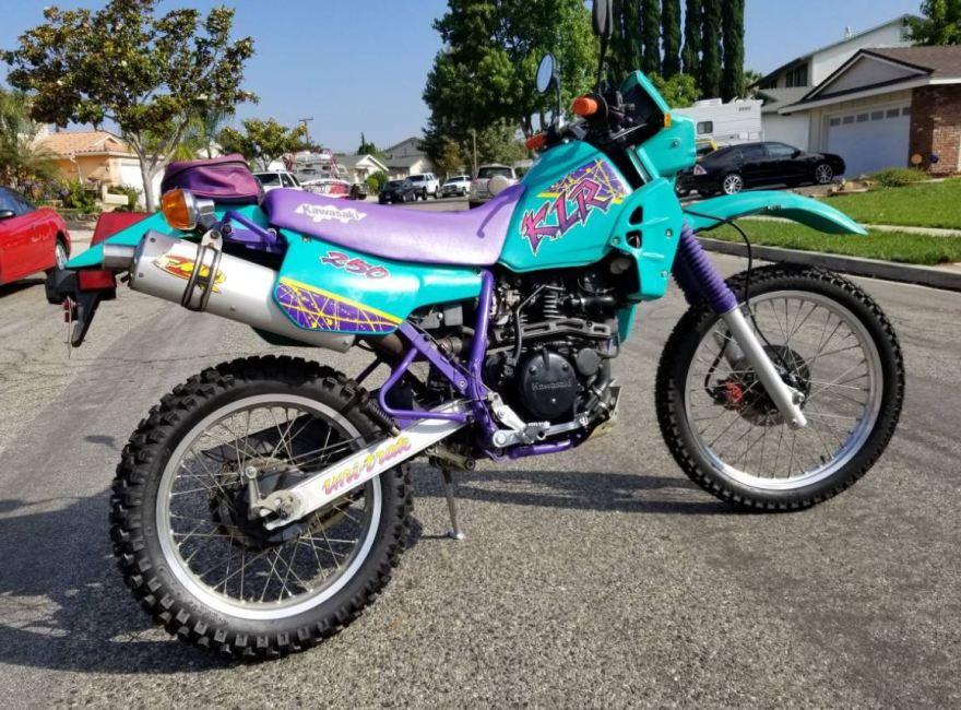 Wacky Kwacky 1995 Kawasaki Klr250