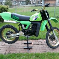 First Year - 1983 Kawasaki KX500