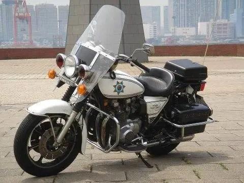Chp 1980 Kawasaki Kz1000 Police Bike Urious
