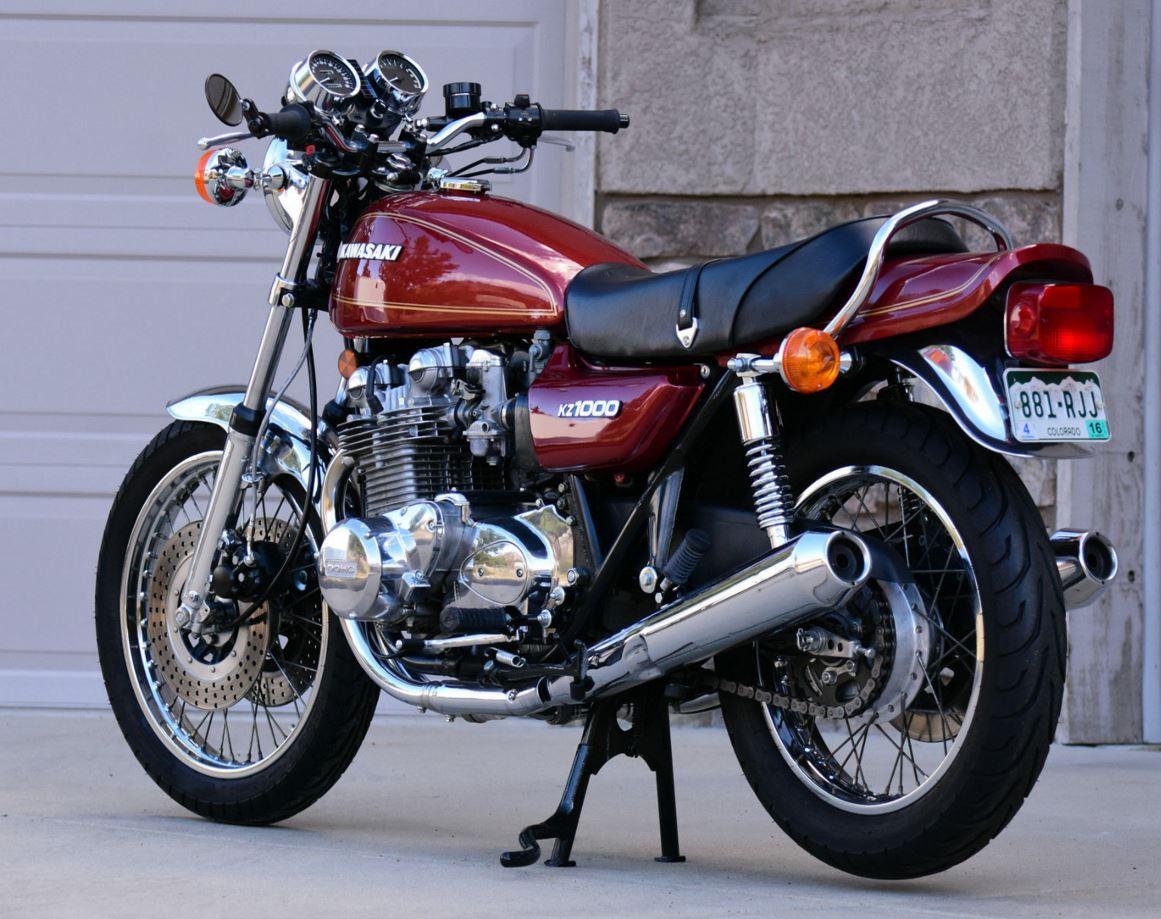 1977 kawasaki kz1000a bike urious. Black Bedroom Furniture Sets. Home Design Ideas