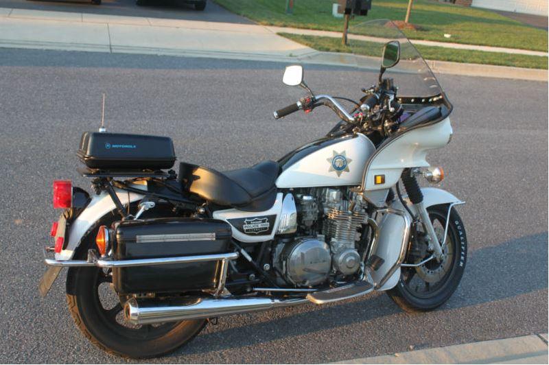 2002 Kawasaki Kz1000p Police Bike Urious