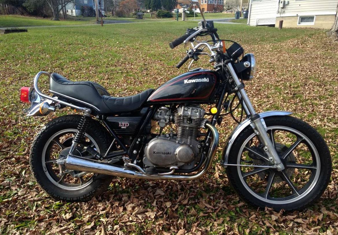 1981 Kawasaki Kz440 Ltd Bike Urious