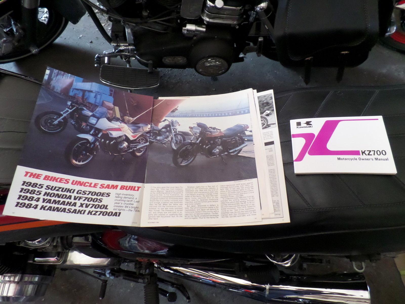 1984 kawasaki kz700 bike urious rh bike urious com Kawasaki KZ700 Tracker Kawasaki KZ750 Pressimon Red