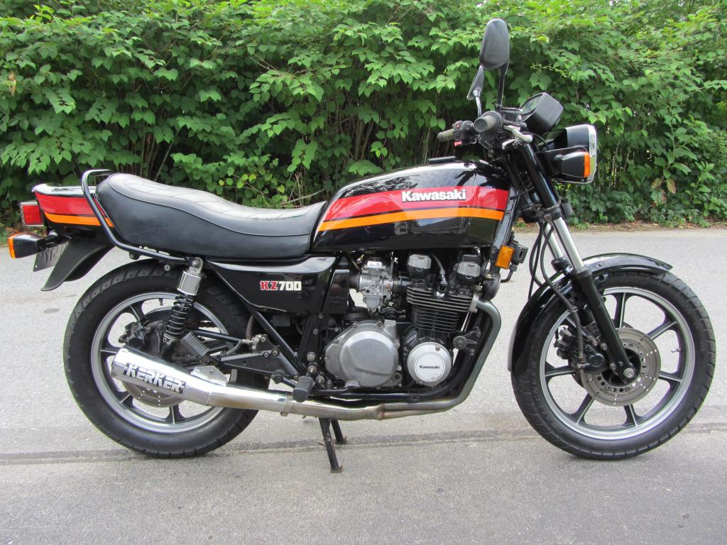 one year only – 1984 kawasaki kz700 | bike-urious