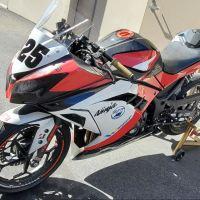 2013 Kawasaki Ninja 300 Track Bike