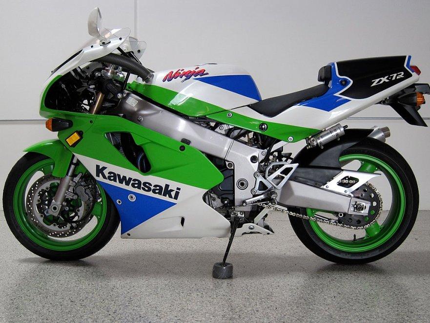 Kawasaki Ninja ZX-7R K1 - Left