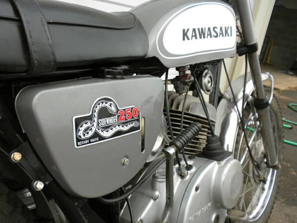 Kawasaki Sidewinder - Engine