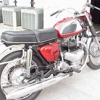 BSA Style From Japan - 1966 Kawasaki W1
