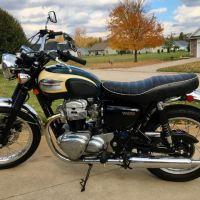 864 Miles - 2001 Kawasaki W650