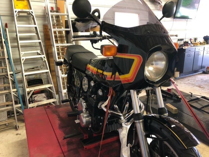 Restored – 1978 Kawasaki Z1R-TC