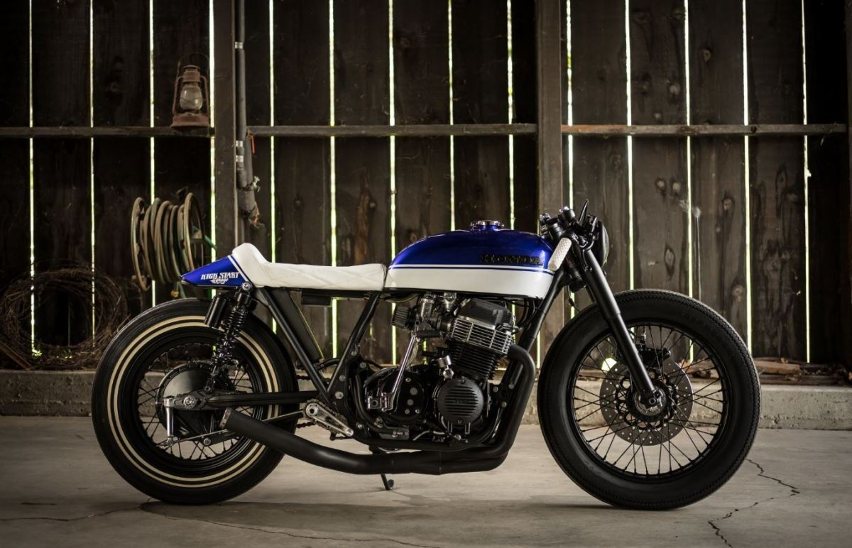 "Kick Start Garage Build - 1973 Honda CB750K - ""Hot Rod Alice"""