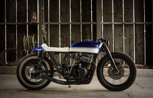 "Kick Start Garage Build – 1973 Honda CB750K – ""Hot Rod Alice"""