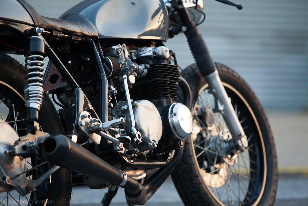Kott Motorcycles Honda CB550 - Engine